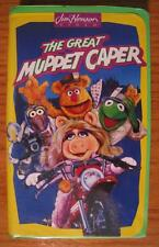 Jim Henson The Great MUPPET CAPER VHS VIDEO CLASSIC The Muppets