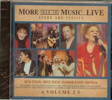MORE THAN THE MUSIC...LIVE - STAND AND TESTIFY - CD - NEW