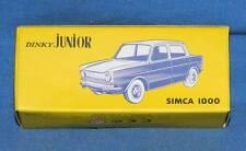 DINKY™TOYS JUNIOR ATLAS - SIMCA 1000 VERTE - REF: 104 - ED LIM NOËL 2015 -1/43