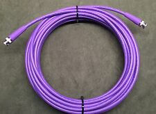 New 25' Belden 1694A SDI-HDTV, RG6 Digital Video BNC Male to Male Cable Purple
