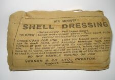 WW2 RAF Air Ministry Issue SHELL DRESSING 1944 Vernon & Co Ltd, Preston ORIGINAL