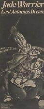 """M9/12/72PM21 jade warrior : last autumn's dream album advert 15x7"""""""