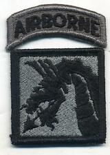 US Army 18th Corps Airborne ACU Patch