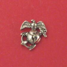 USMC / Marine Tie Tack Pin Sterling Silver (#26)