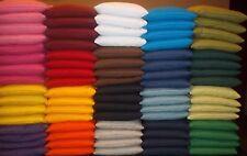 Set of 4 pcs  Regulation Corn Hole Bags Baggo - Bean Bag - Your Choice of Colors