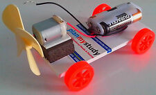 "Air Driven Car, works on Newton""s law, Student /school/ Working Project"