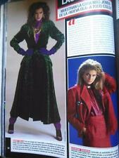 CLIPPING recorte BROOKE SHIELDS CATHERINE OXENBERG