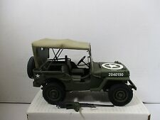 DANBURY MINT 1/18 SCALE WORLD WAR II JEEP REPLICA
