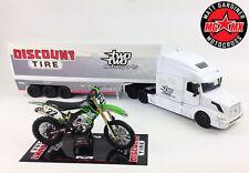 Caña De Chad 22 Deportes motor SET Kawasaki KXF450 Motocross / 1:32 Camión