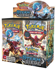 Pokemon TCG English XY11 Steam Siege Booster Box 36ct FACTORY SEALED IN HAND!!