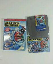 Mario's Time Machine (Nintendo Entertainment System, 1994)