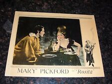 "ROSITA Original 1923 Lobby Card, Mary Pickford, 11"" x 14"", C7 Fine/Very Fine"