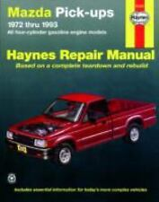 Mazda Pickups, 1972-1993: All Gasoline Engine Models (Haynes Repair Manuals)