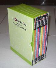 Box 10 Dvd LA MATEMATICA raccontata da PIERGIORGIO ODIFREDDI La Repubblica 2015