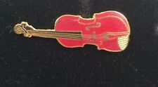 Vintage Mini Violin Pin Brooch Badge Music Gift AIM74A