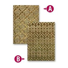SPELLBINDERS M-Bossabilities VENETIAN EL-021 2 SIDED Reversible Embossing Folder
