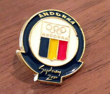 Vintage Andorra National Olympic Committee (NOC) Pin - 2000 Sydney Summer Games
