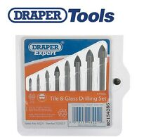 DRAPER TOOLS Expert 8 Piece Tile & Glass Drilling Set HSS Bits 48221