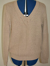 NWT BURBERRY $695 COTTON CABLE KNIT SWEATER SZ M MADE IN ITALY