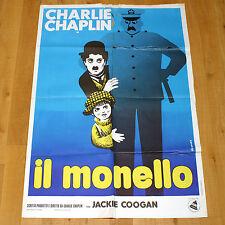 IL MONELLO manifesto poster affiche Charlie Chaplin The Kid Leo Kouper