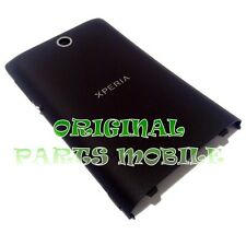 Battery Cover Sony Xperia E / Dual C1504 C1505 C1604 C1605 Flat Black ORIGINAL