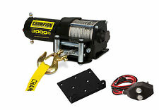 Champion Power Equipment 3,000 lb. ATV/UTV Power Winch Kit 13005