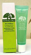 Origins No Puffery - Cooling Roll On For Puffy Eyes - 15ml - New - Boxed