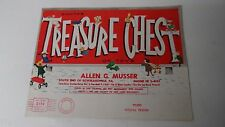 1961 Musser Store - Allentown PA - Child's Christmas Giveaway Toy Book