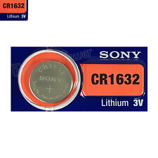 1 x SONY Lithium CR1632 battery 3V Coin Cell DL1632 ERC1632 KRC1632 EXP:2025