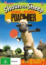 Shaun The Sheep - Ping-Pong Poacher DVD R4 Brand New