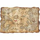 NEW PIRATE TREASURE MAP PARTY BAG TOY PROP ACCESSORY FOR FANCY DRESS COSTUME