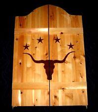 Western Longhorn Steer w/ Stars Saloon Cafe Swinging Doors
