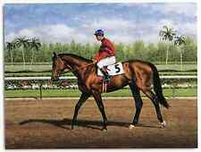 Citation photo from oil painting 1948 Kentucky Derby