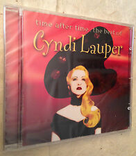 CD TIME AFTER TIME THE BEST OF CYNDI LAUPER SMC 501156 2 2000 ROCK