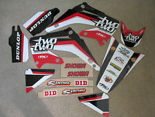 F X  TEAM 22 RACING  GRAPHICS  HONDA CR125 CR250 CR125R CR250R  2002-2008