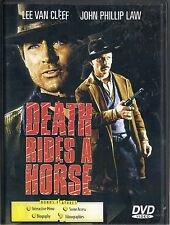 DEATH RIDES A HORSE~1967 VG/C DVD~LEE VAN CLEEF JOHN PHILLIP LAW ANTHONY DAWSON