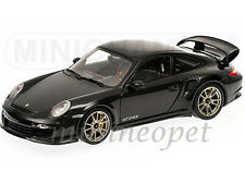 MINICHAMPS 100-069401 2011 PORSCHE 911 997 GT2 RS 1/18 BLACK with SILVER WHEELS