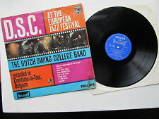 "D.S.C at the European Jazz Festival 12"" Lp Holland 1963 Philips 840 328 Y Stereo"