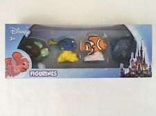 Disney Pixar Finding Nemo Figurines Beverly Hills Teddy Bear 4 Figures Dory