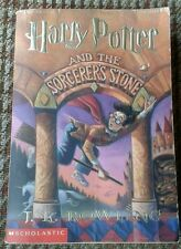 Harry Potter & The Sorcerers Stone JK Rowling Scholastic US Paperback RARE
