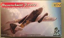 Unicraft Models 1:72 Messerschmitt P.1070 One of the Earliest Me.262 Projects