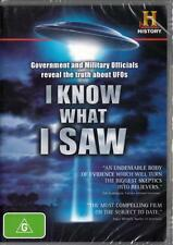 I KNOW WHAT I SAW - THE TRUTH ABOUT UFOS  -  NEW & SEALED R4 DVD FREE LOCAL POST