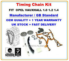 Opel Vauxhall Corsa C Agila Astra Meriva 1.0,1.2,1.4 Timing Chain Kit with Gears