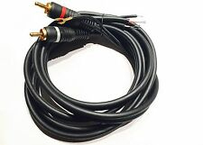 Technics cable RCA phono lead ground wire SL1200 MK SL1210 MK2 MK5 M5G 1.5m