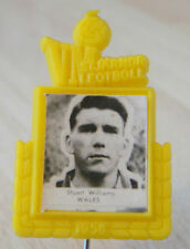 1958  WORLD CUP Player badge of STUART WILLIAMS WEST BROMWICH ALBION SOUTHAMPTON