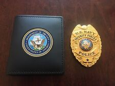 *OBSOLETE* U.S. Navy Master At Arms Security Forces Military Police Badge w CASE