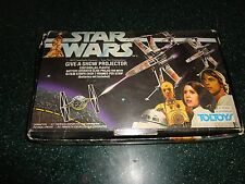 Ultra Rare Vintage Star Wars Toltoys Give-a-Show Projector with 3D Box