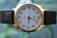 De Colección Para hombre Grueso Chapado en oro ruso Luch (POLJOT) Deluxe Reloj 23 joyas!