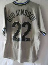 Leicester City 2004-2005 Gudjohnsson Away Football Shirt Size small /14320