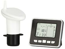 Ultrasonic Water Tank Level Meter with Thermo Sensor battery powered
